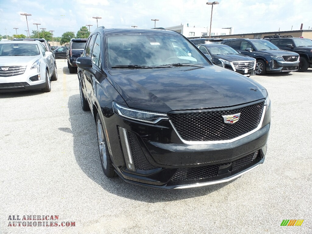 2020 XT6 Sport AWD - Stellar Black Metallic / Jet Black photo #1