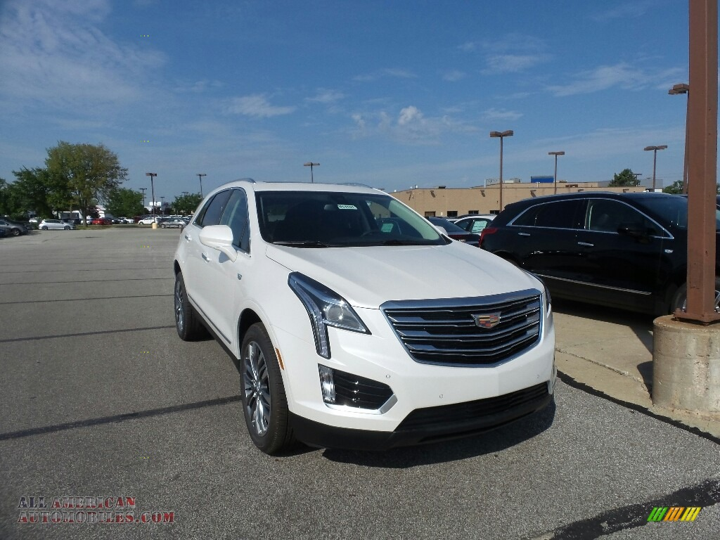 2019 XT5 Luxury AWD - Crystal White Tricoat / Jet Black photo #1