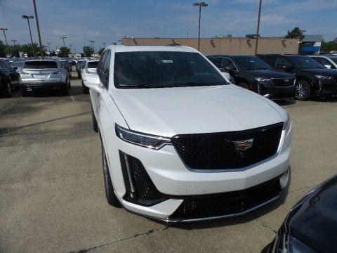 Crystal White Tricoat 2020 Cadillac XT6 Sport AWD