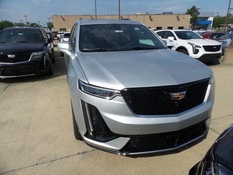 Radiant Silver Metallic 2020 Cadillac XT6 Sport AWD