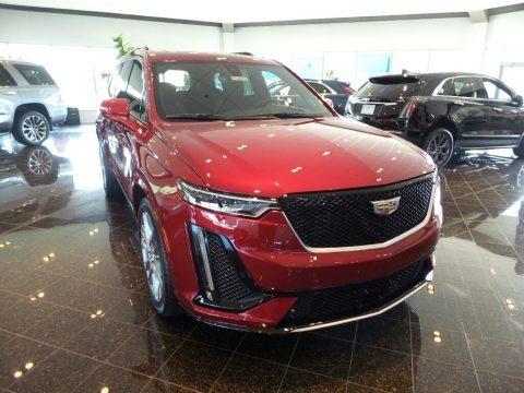 Red Horizon Tintcoat 2020 Cadillac XT6 Sport AWD