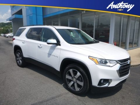 Iridescent Pearl Tricoat 2020 Chevrolet Traverse LT AWD