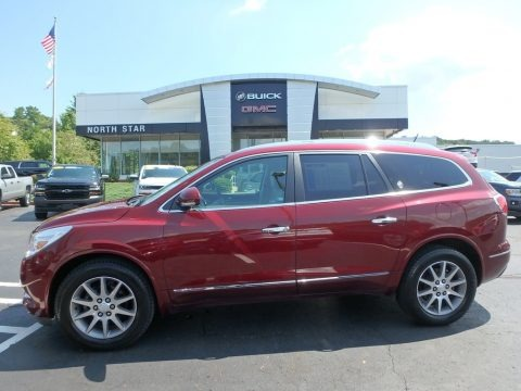 Crimson Red Tintcoat 2016 Buick Enclave Leather AWD