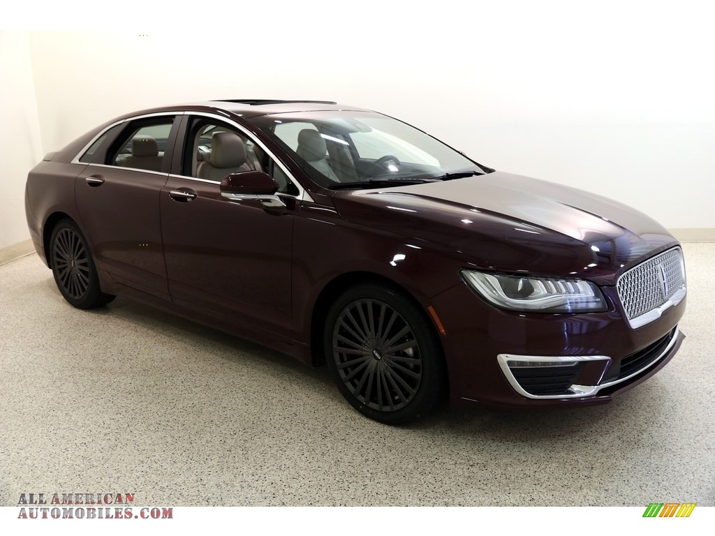 2017 MKZ Reserve - Burgundy Velvet / Cappuccino photo #1
