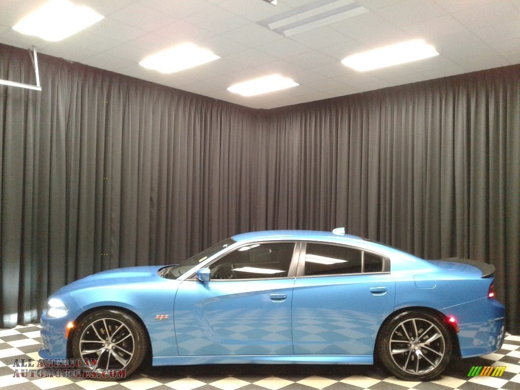 2018 Charger R/T Scat Pack - B5 Blue Pearl / Black photo #1