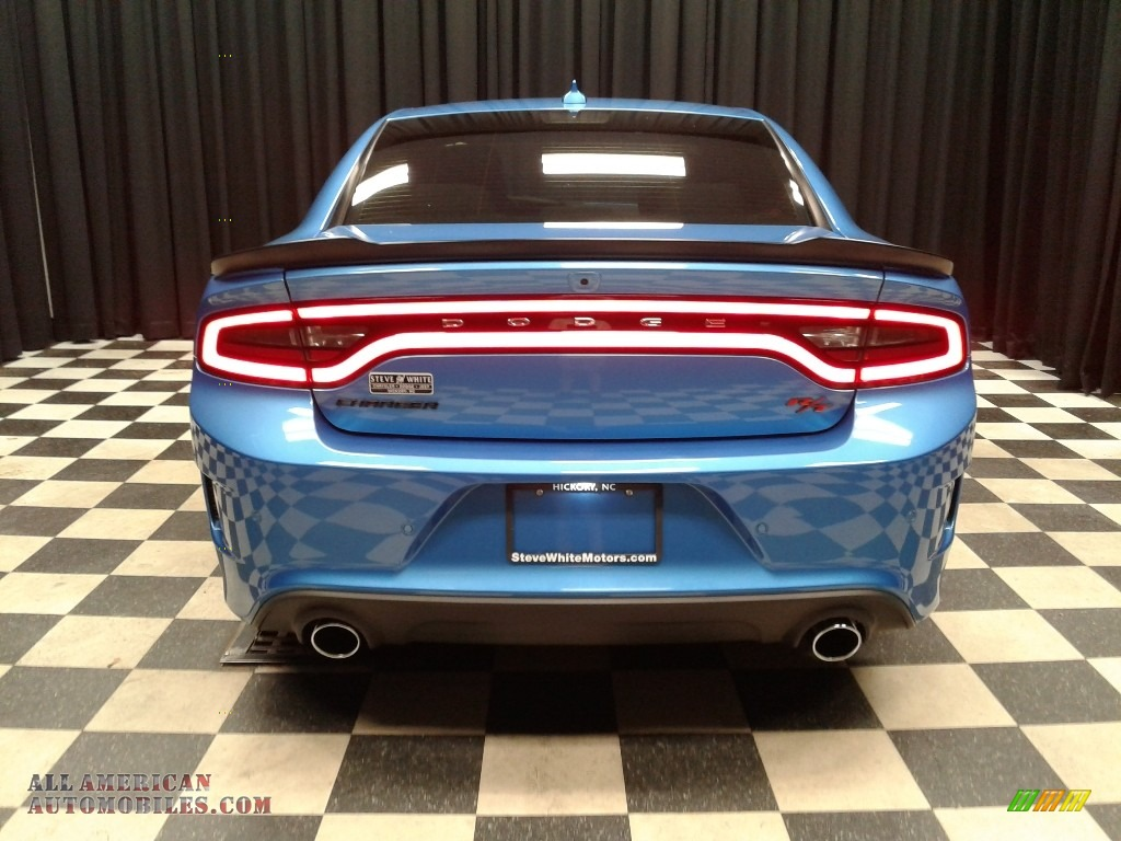 2018 Charger R/T Scat Pack - B5 Blue Pearl / Black photo #7