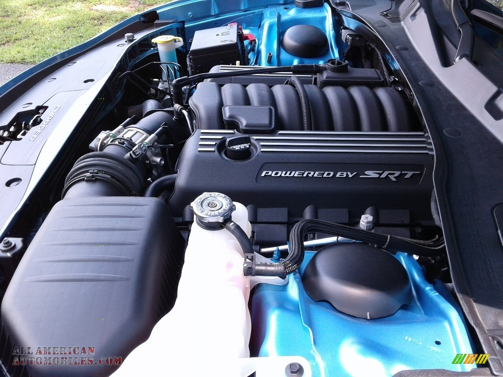 2018 Charger R/T Scat Pack - B5 Blue Pearl / Black photo #35