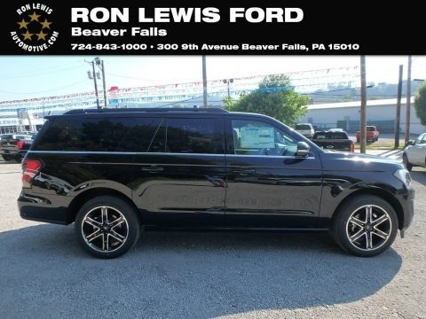 Agate Black Metallic 2019 Ford Expedition Limited Max 4x4