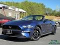Ford Mustang EcoBoost Convertible Kona Blue photo #1