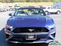 Ford Mustang EcoBoost Convertible Kona Blue photo #8
