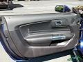 Ford Mustang EcoBoost Convertible Kona Blue photo #28