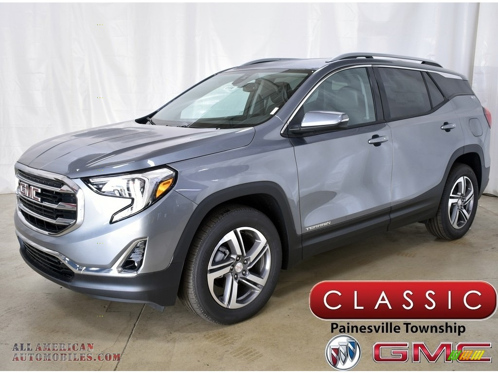 2020 Terrain SLT AWD - Satin Steel Metallic / Jet Black photo #1