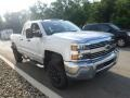 Chevrolet Silverado 2500HD Work Truck Double Cab 4x4 Summit White photo #8