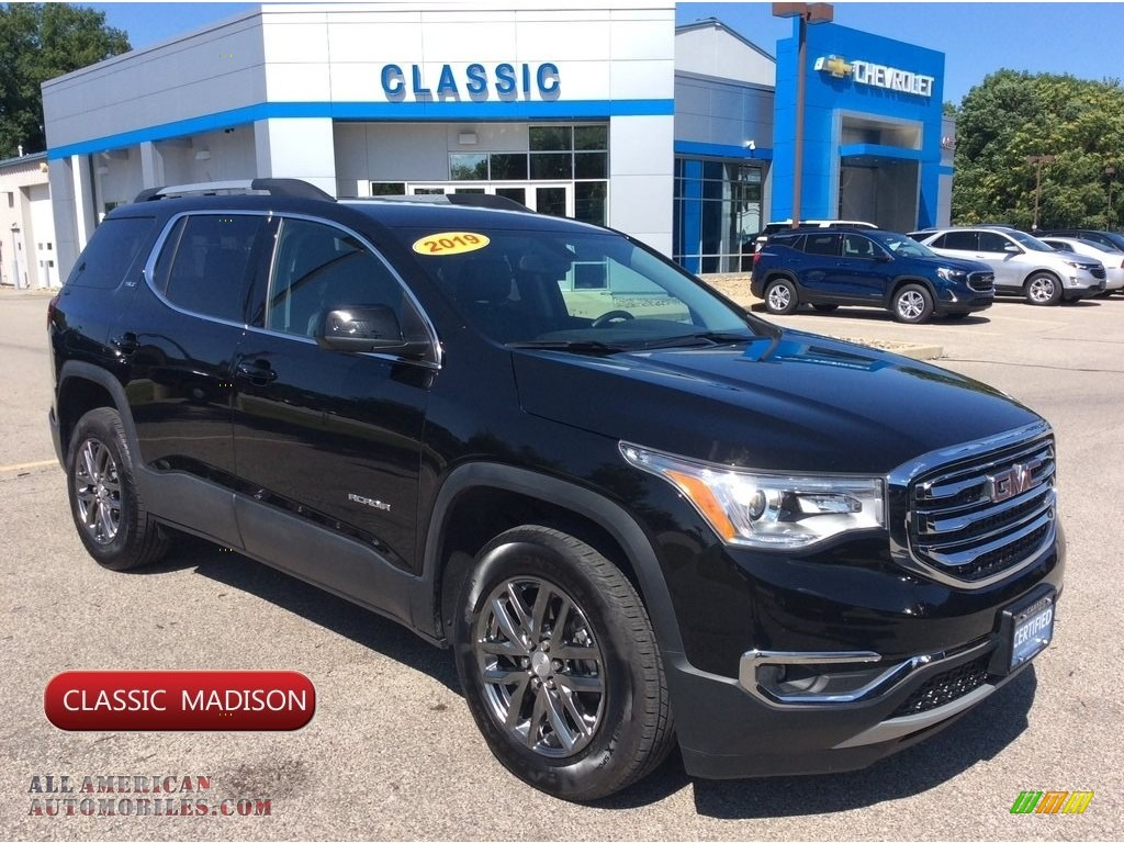 2019 Acadia SLT AWD - Ebony Twilight Metallic / Jet Black photo #1