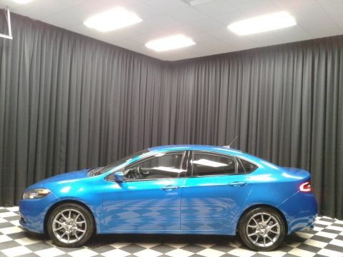 Laser Blue Pearl 2015 Dodge Dart SXT