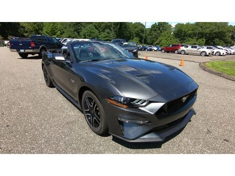 Magnetic 2019 Ford Mustang GT Premium Convertible