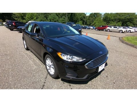 Agate Black 2019 Ford Fusion SE