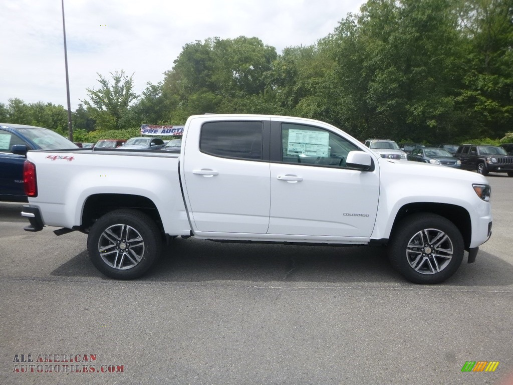 2020 Colorado WT Crew Cab 4x4 - Summit White / Ash Gray/Jet Black photo #6