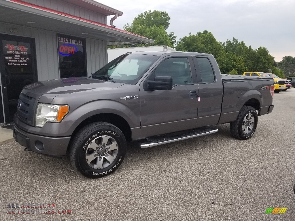 Ingot Silver Metallic / Steel Gray Ford F150 STX SuperCab 4x4