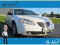 Pontiac G6 GT Sedan Ivory White photo #1