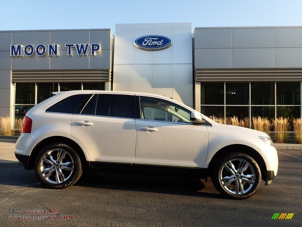 2011 Edge Limited AWD - White Platinum Tri-Coat / Medium Light Stone photo #1