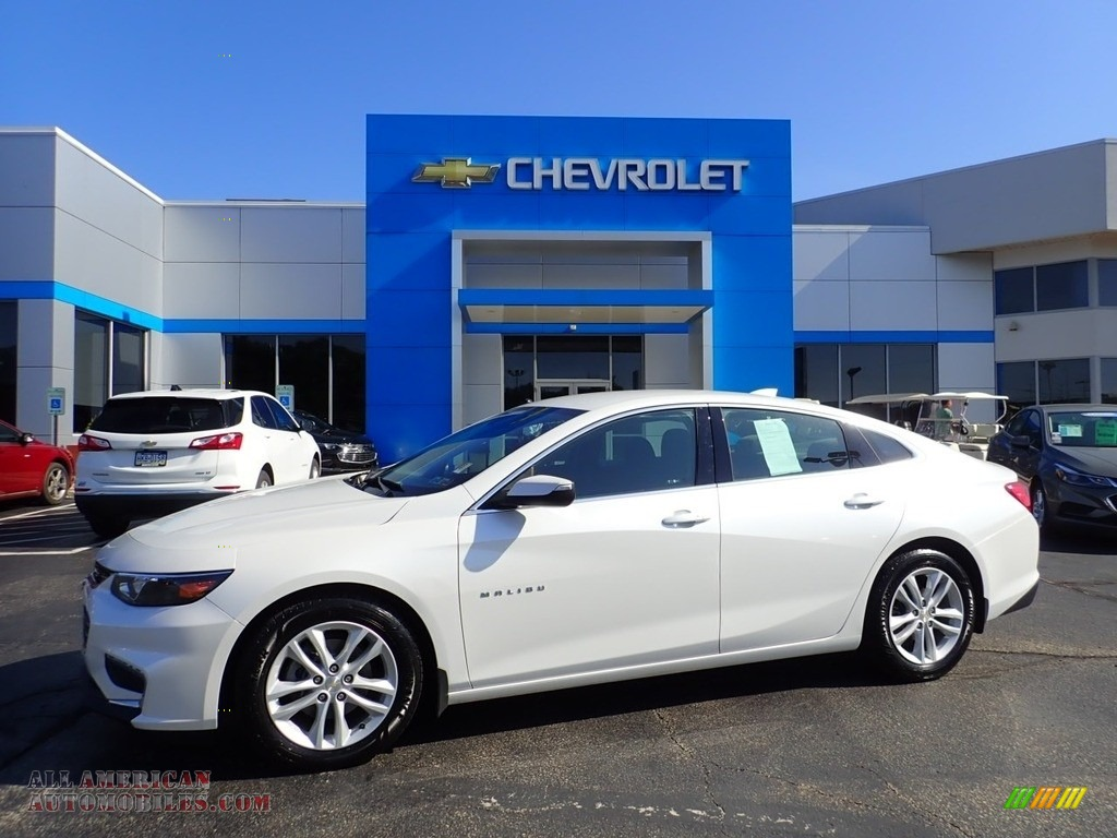 2016 Malibu LT - Iridescent Pearl Tricoat / Jet Black photo #1