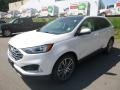 Ford Edge Titanium AWD White Platinum photo #5