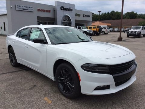 White Knuckle 2019 Dodge Charger SXT AWD