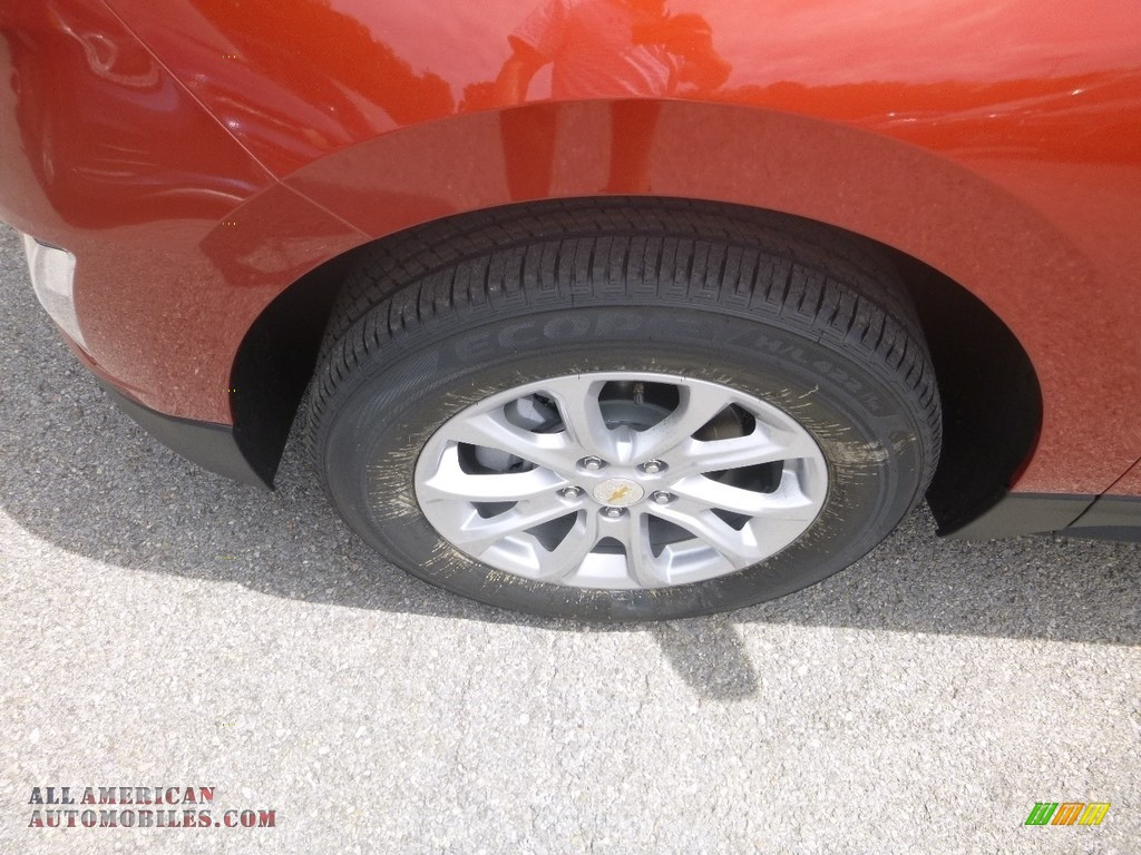 2020 Equinox LS AWD - Cayenne Orange Metallic / Ash Gray photo #2