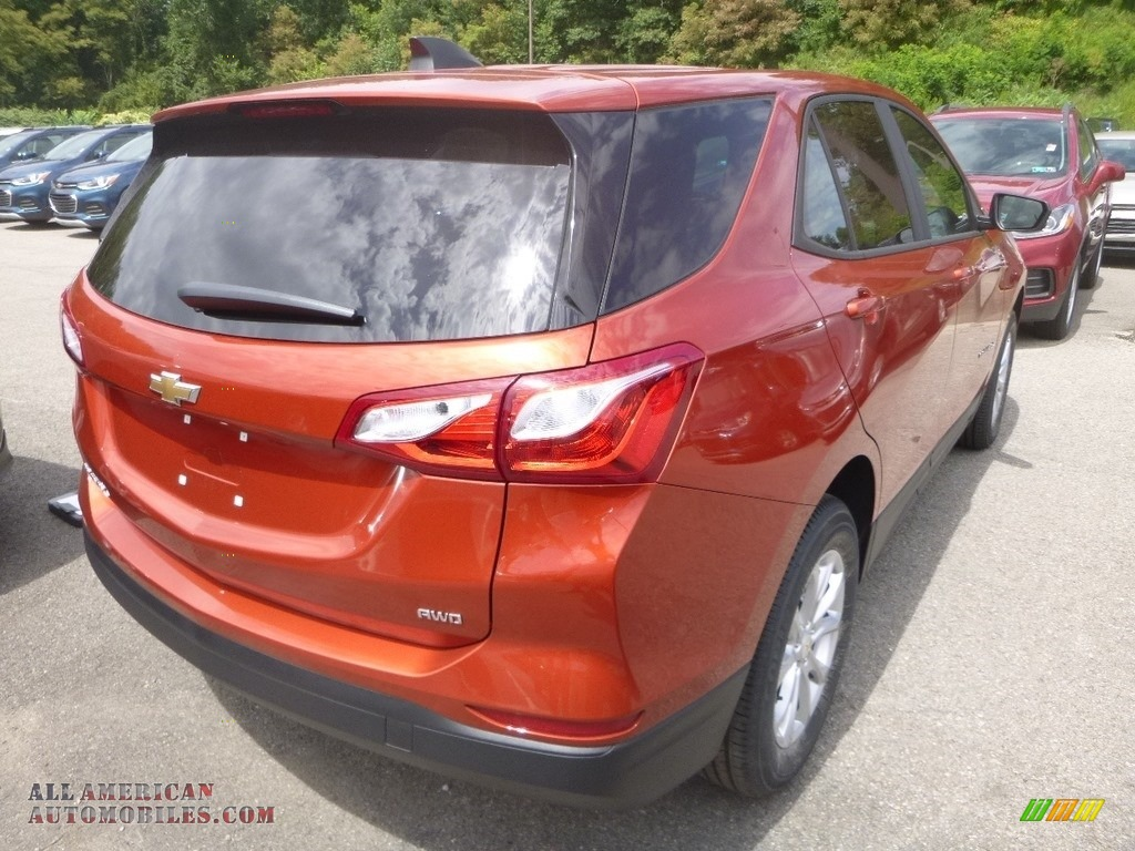 2020 Equinox LS AWD - Cayenne Orange Metallic / Ash Gray photo #6