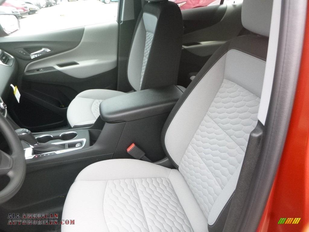 2020 Equinox LS AWD - Cayenne Orange Metallic / Ash Gray photo #14
