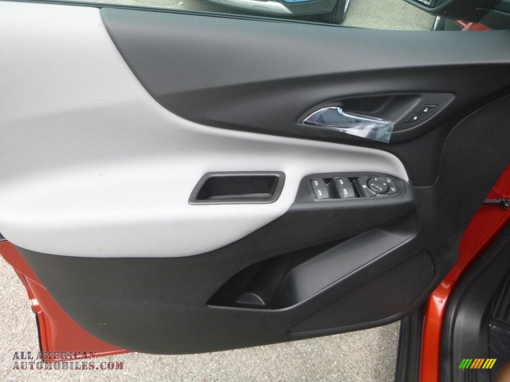 2020 Equinox LS AWD - Cayenne Orange Metallic / Ash Gray photo #15