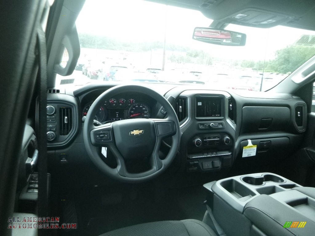 2020 Silverado 2500HD Custom Crew Cab 4x4 - Summit White / Jet Black photo #14