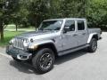 Jeep Gladiator Overland 4x4 Billet Silver Metallic photo #2