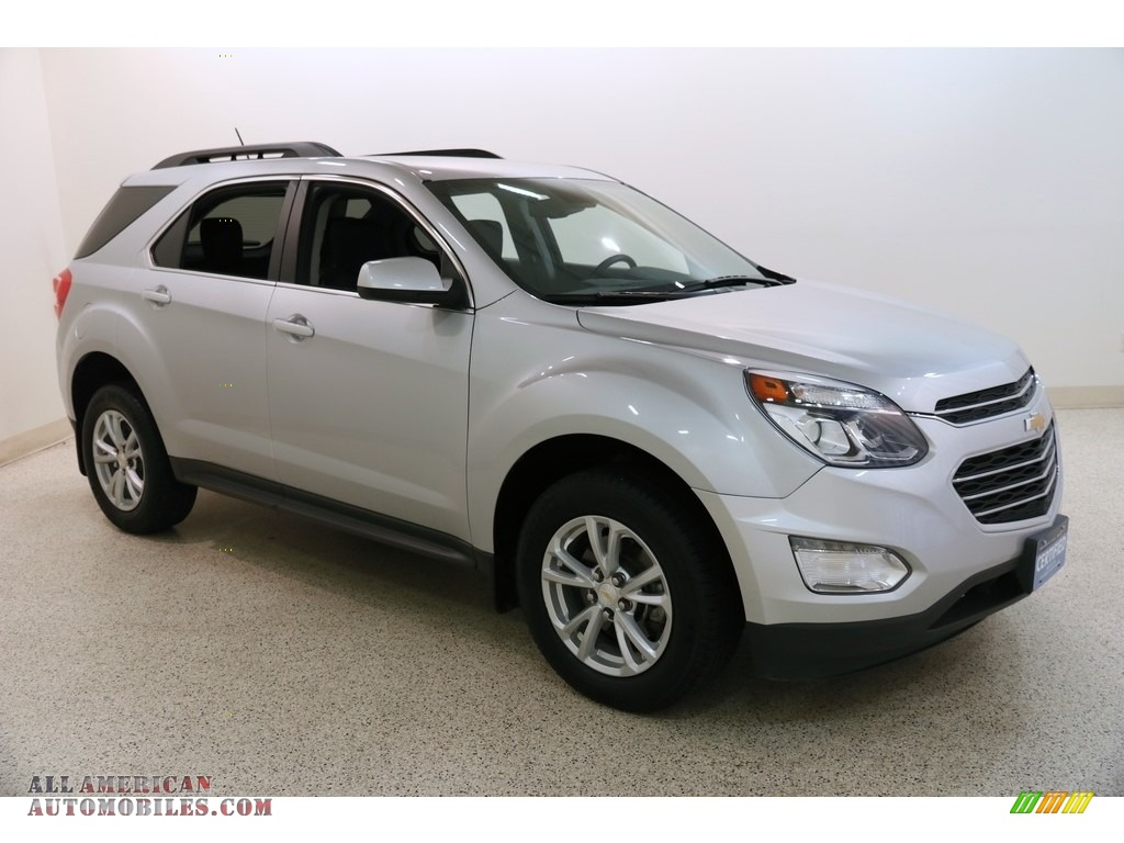 Silver Ice Metallic / Jet Black Chevrolet Equinox LT AWD