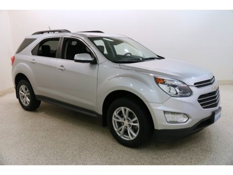 Silver Ice Metallic 2016 Chevrolet Equinox LT AWD