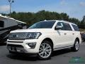 Ford Expedition Platinum Max 4x4 White Platinum Metallic Tri-Coat photo #1
