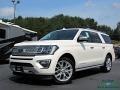 Ford Expedition Platinum Max 4x4 White Platinum Metallic Tri-Coat photo #1