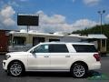 Ford Expedition Platinum Max 4x4 White Platinum Metallic Tri-Coat photo #2