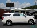 Ford Expedition Platinum Max 4x4 White Platinum Metallic Tri-Coat photo #6