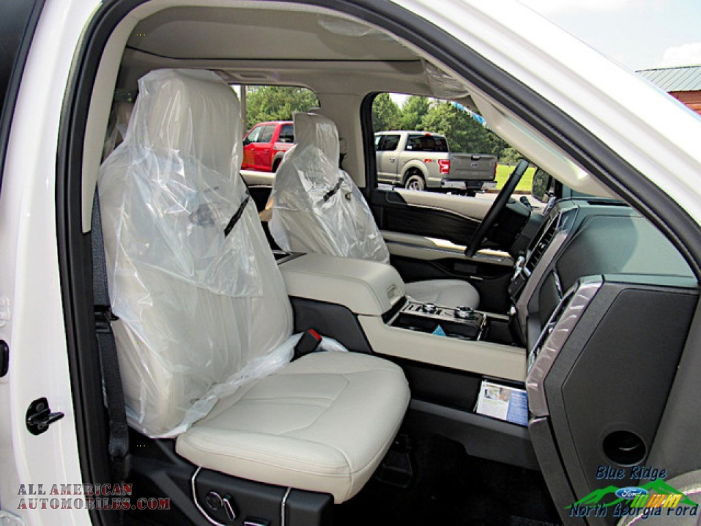 2019 Expedition Platinum Max 4x4 - White Platinum Metallic Tri-Coat / Medium Soft Ceramic photo #11