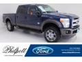 Ford F250 Super Duty King Ranch Crew Cab 4x4 Blue Jeans Metallic photo #1