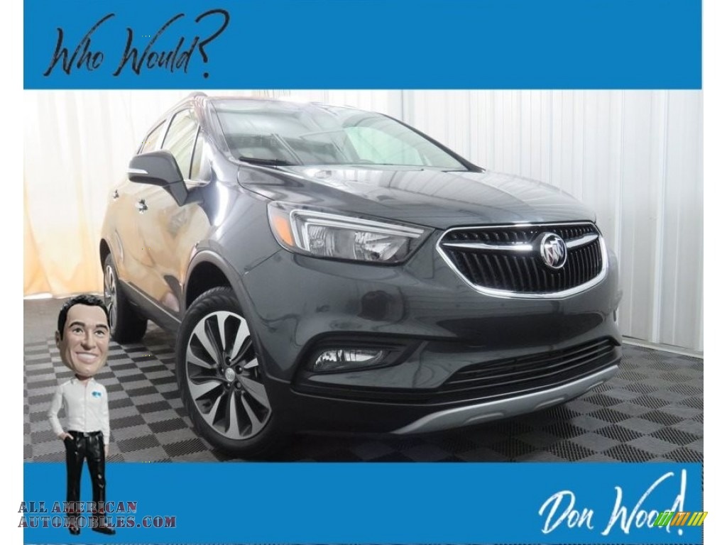 2017 Encore Preferred II AWD - Graphite Gray Metallic / Ebony photo #1