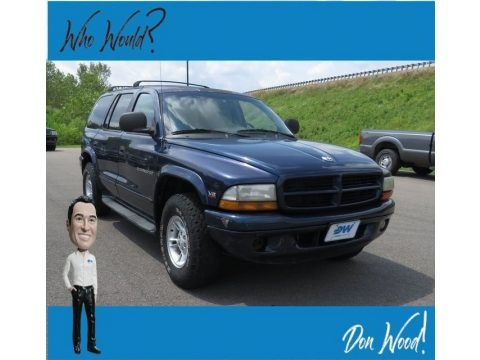 Black 2000 Dodge Durango SLT 4x4