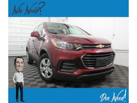 Crimson Metallic 2017 Chevrolet Trax LS