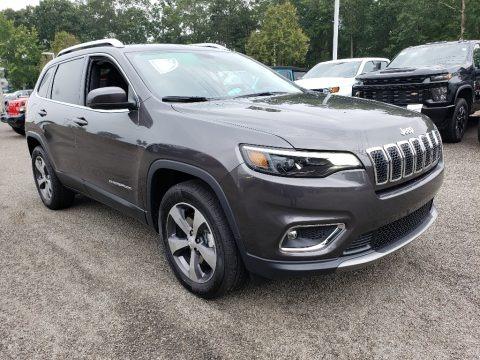 Granite Crystal Metallic 2019 Jeep Cherokee Limited 4x4