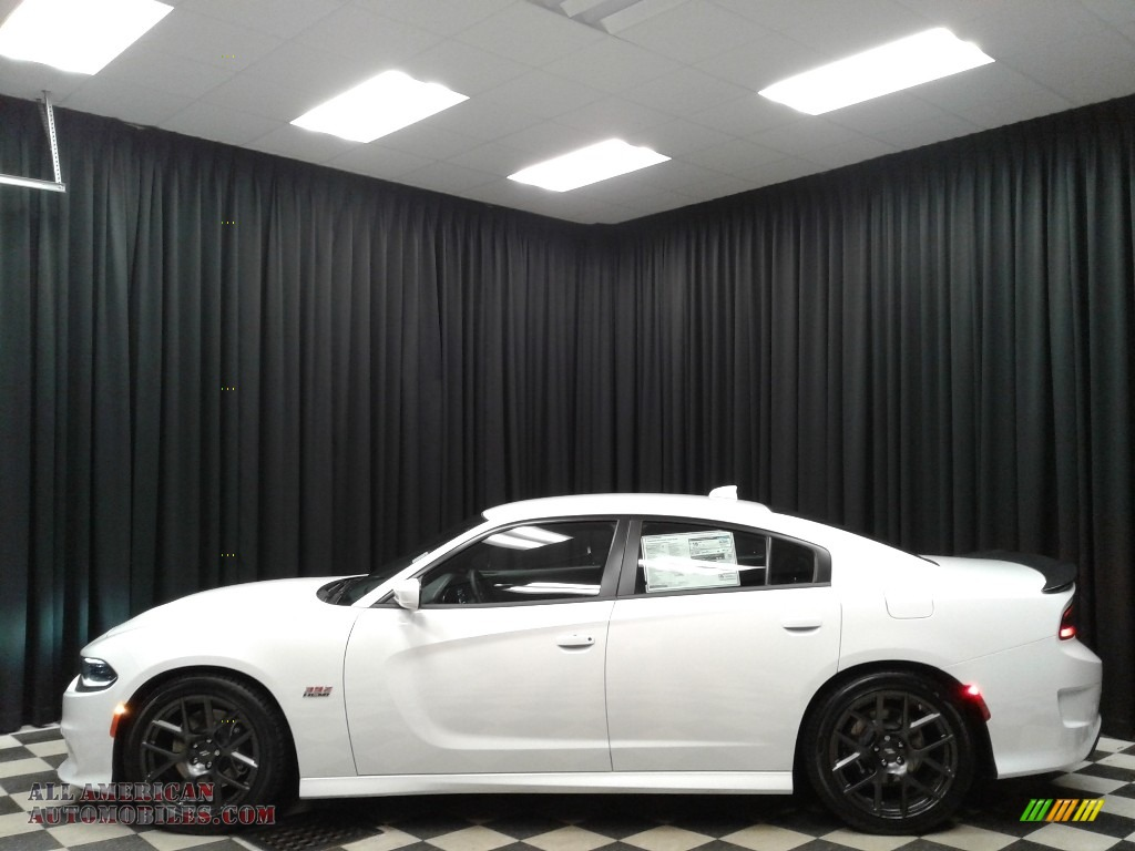 2019 Charger R/T Scat Pack - White Knuckle / Black photo #1