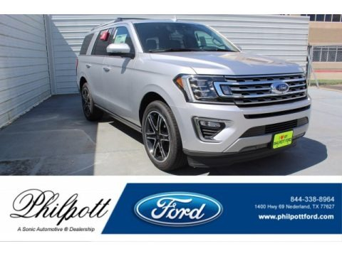 Ingot Silver Metallic 2019 Ford Expedition Limited