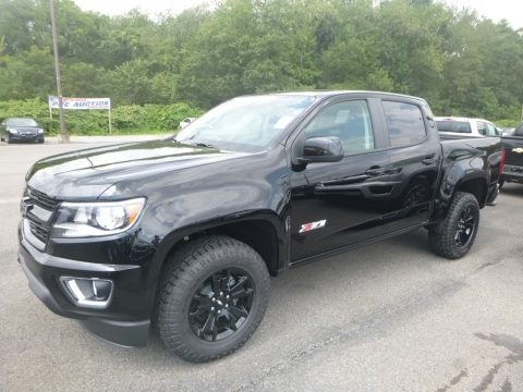 Black 2020 Chevrolet Colorado Z71 Crew Cab 4x4