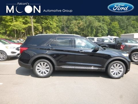 Agate Black Metallic 2020 Ford Explorer Limited 4WD